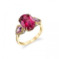 RICARDO BASTA diamants jaunessaphirs roses