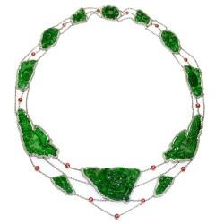 RICARDO BASTA-diamants-rubis-jadeite-collier
