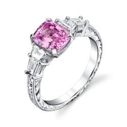 RICARDO BASTA diamants-saphir rose-saphir