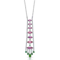 RICARDO BASTA diamants-topazes rose-tsavorites
