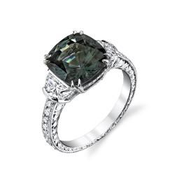 RICARDO BASTA diamants-zircon bleu