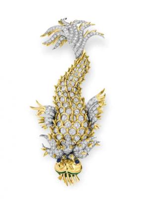 SCHLUMBERGER-diamants-broche