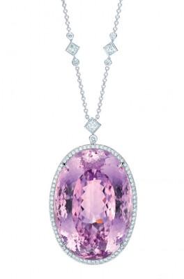 TIFFANY & Co-The Tiffany Anniversary-Kunzite-diamants-platine