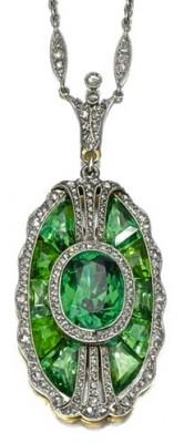 Tiffany & Co-Collier-tourmaline-diamants