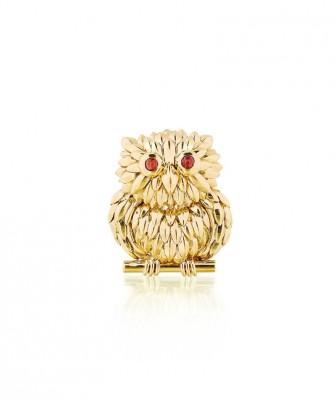 #VAN CLEEF & ARPELS #Broche #or #rubis #Gold #ruby #brooch