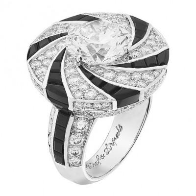 #VAN CLEEF & ARPELS #Diamant #Diamond #Onyx