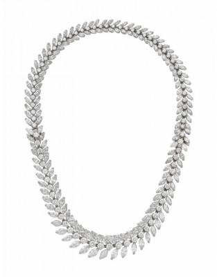 #VAN CLEEF & ARPELS #Diamonds #Necklace #1957