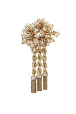 #VAN CLEEF & ARPELS #Gold #Diamonds #Diamants #brooch