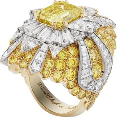 #VAN-CLEEF-ARPELS #Peau-dÂne #2014 #diamonds. #Diamants  #Diamant Jaune
