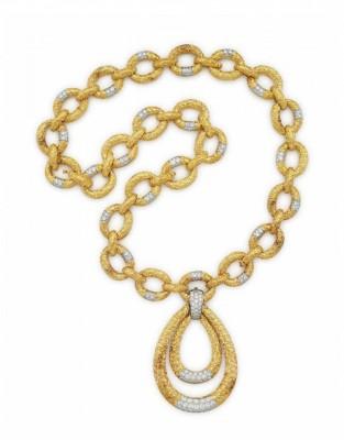 #VAN CLEEF & ARPELS #Sautoire #Diamonds #Gold