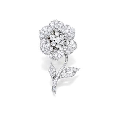 #VAN CLEEF et ARPELS #brooch #diamonds