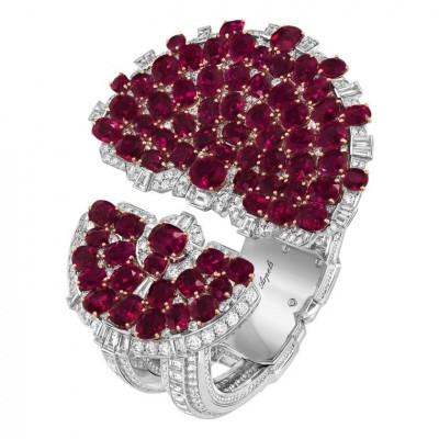 VAN CLLEEF & ARPELS #rubies #diamonds #bracelet