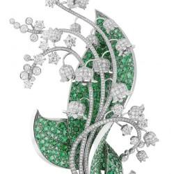 VAN ClEEF & ARPELS-Collection Palais de la Chance Collection-émeraude-diamants