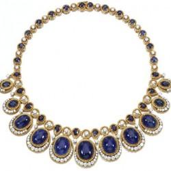 VAN ClEEF & ARPELS-Saphirs-diamants-collier