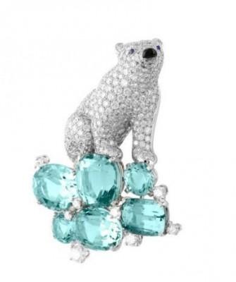 VAN ClEEF & ARPELS-joaillerie-diamants-aigues marines