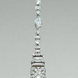 VAN ClEEF & ARPELS-perle de culture-diamants