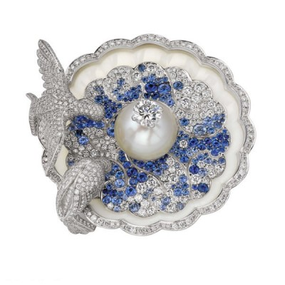 VAN ClEEF & ARPELS-perles-diamants-saphris