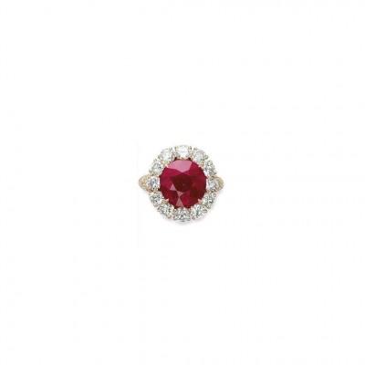 VAN ClEEF & ARPELS-rubis-diamants
