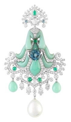 VAN ClEEF & ARPELS-turquoises-saphirs-diamants