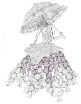 VAN ClEEF & ARPELS-umbrella lady-diamants