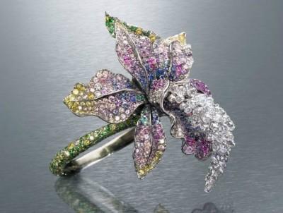 Bague orchidée - Orchid ring