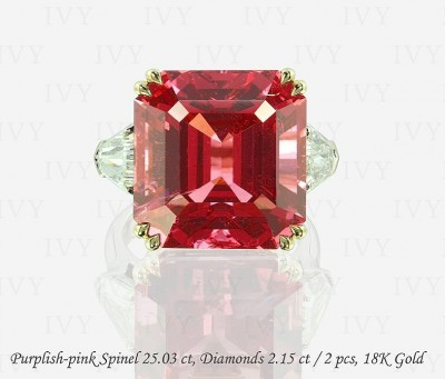 IVY-spinel-diamonds-ring