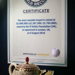 09-09-2016: Record de prix pour une théière