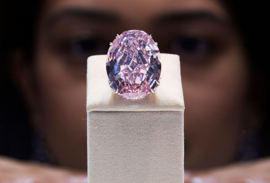 4 Avril 2017 Record De Prix Pour Le Diamant Rose Pink Star