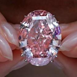 4 avril 2017 : record de prix pour le diamant rose PInk Star