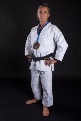 Laurent SIKIRDJI CHAMPIONNAT DU MONDE DE JUDO VETERANS 2017 OLBIA SARDAIGNE M7 -66kg