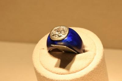 JAR, lapis lazuli, diamant