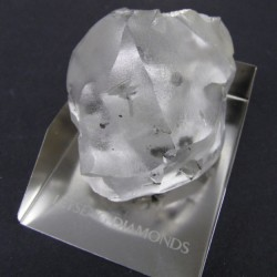 15 janvier 2018 : L'un des plus gros diamants au Monde