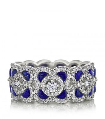 #DE BEERS the Talisman collection #Chite Gold #Diamonds #Lapis Lazuli