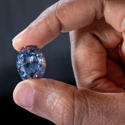 26/04/2019 découverte d'un superbe diamant bleu de 20,46 carat