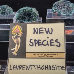 Une nouvelle espèce minérale