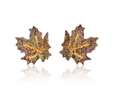 NAOMI SAMA multicolored diamonds - sapphires - garnets