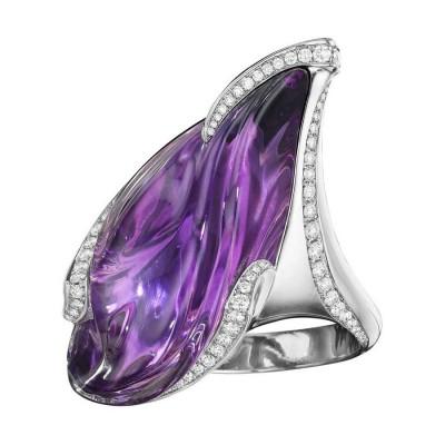#NAOMI SARNA #Amethyst #Diamond #Amethyste #Diamant