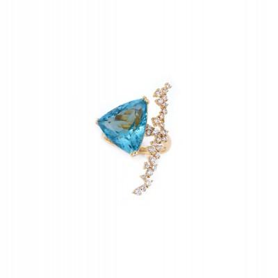 PALOMA SANCHEZ Aquamarine Diamonds VVS E