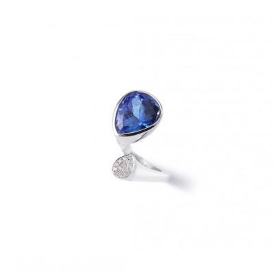PALOMA SANCHEZ Tanzanite, diamonds