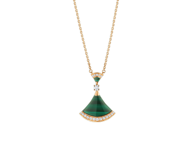 BULGARI-pendant-malachite-diamonds