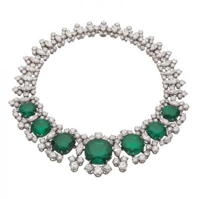BULGARI_diamond_necklace__colombian_emeralds-diamant-émeraude