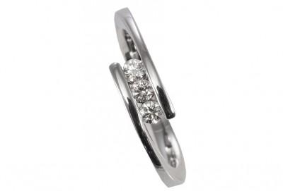 Création Laurent SIKIRDJI - Bague diamants