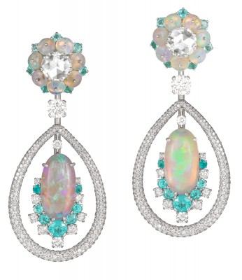 DAVID MORRIS - tourmaline Paraiba - diamants