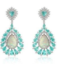 ANNOUSHKA-White-Gold-Sutra-Paraiba-Tourmaline-Opal-Earrings
