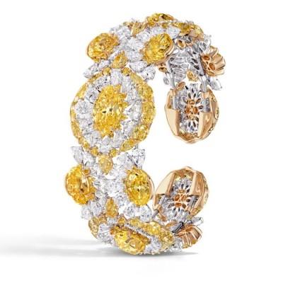 DAVID MORRIS-diamants-saphirs-jaune-blanc