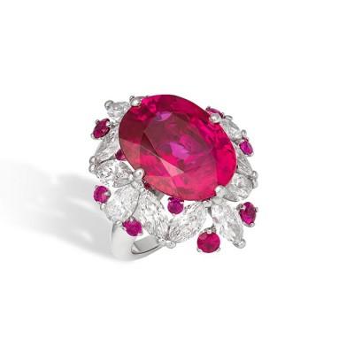 DAVID MORRIS - rubis - diamants