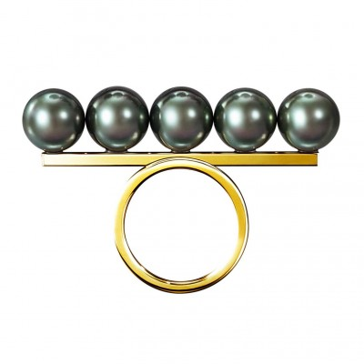 TASAKI-collection-line-balance-ring-south-sea-pearl-black