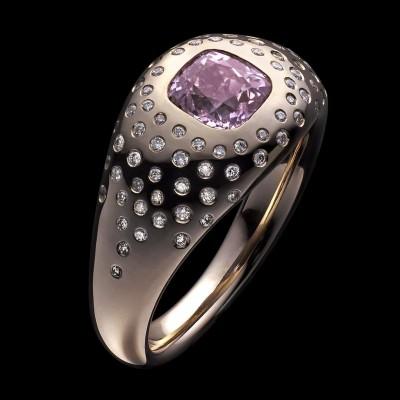 BEN DAY-pink sapphire-diamond