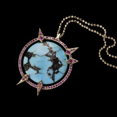 BEN DAY-turquoise-atlas_pendant
