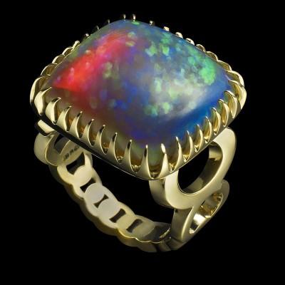 BEN -RAY-ring-opal